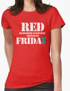 RED Friday remember everyone deployed Navy usaf Marines soldier Canada USA semper fi T-Shirt Tee Shirt Mens Ladies Womens gift MLG-1040 T-Shirt