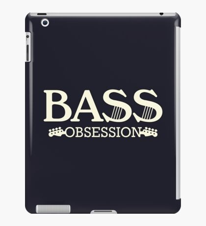 Bass Obsession  iPad Case/Skin