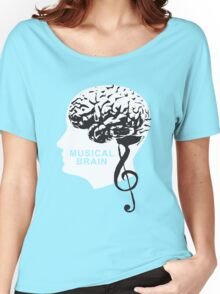 The Amazing Musical Brain Women's Relaxed Fit T-Shirt