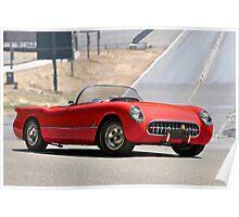 1954 Corvette Roadster Poster