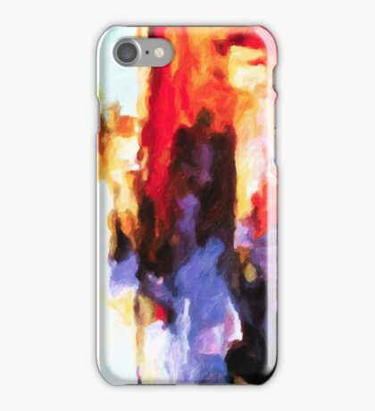 Seven Steps Abstract iPhone Case/Skin