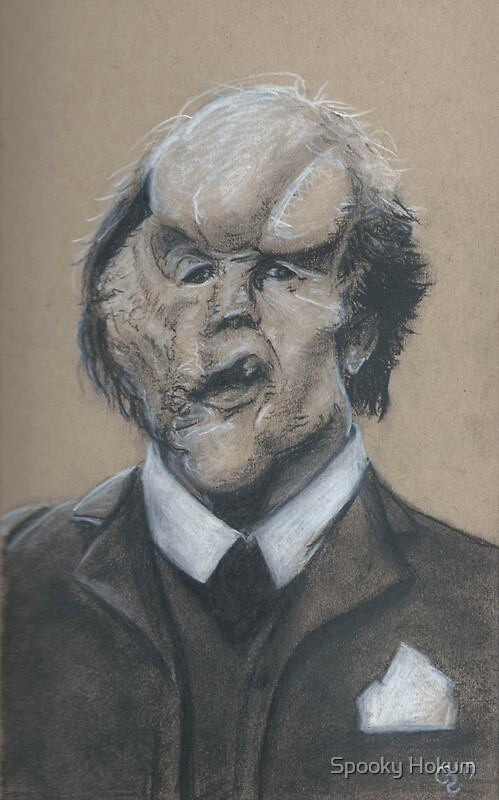"""John Hurt as Joseph Merrick (The Elephant Man)"" by Conrad ..."