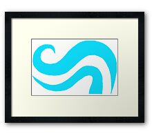 Aspect of breath Framed Print