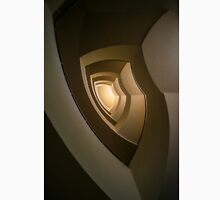Modern staircase in brown tones Classic T-Shirt
