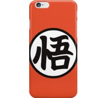 Goku's Kanji Symbol iPhone Case/Skin