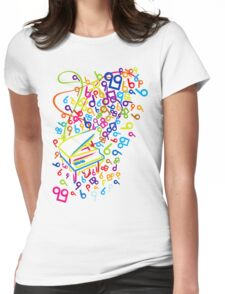 Flabby_Expression Womens Fitted T-Shirt
