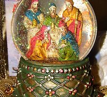 Nativity Snow Globe by WildestArt