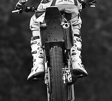 Moto x bike getting air time by Martyn Franklin