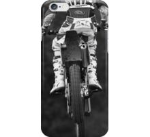 Moto x bike getting air time iPhone Case/Skin