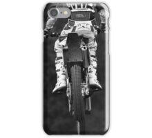 Moto x bike getting air time iPhone Case/Skin