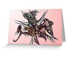 ballpoint nightmare Greeting Card