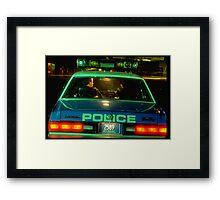 NYC Police Framed Print