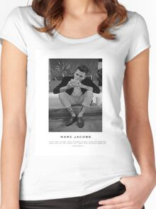 Jesse Rutherford ; The Neighbourhood Women's Fitted Scoop T-Shirt