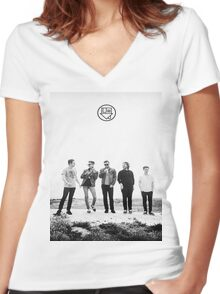 nbhd Women's Fitted V-Neck T-Shirt
