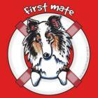 Merle Sheltie : First Mate by offleashart