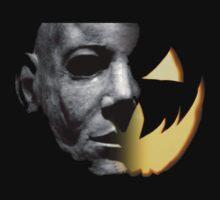 Halloween 6 Michael Myers/Pumpkin Shirt by Psycho50501