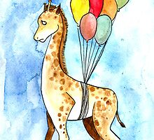 A really confused Giraffe by GGArt