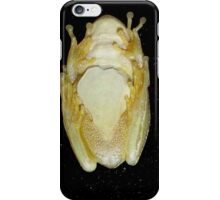 Underbelly The Soft Underside or Abdomen Of A Tree Frog. iPhone Case/Skin