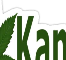 0214 I Love Kansas Sticker