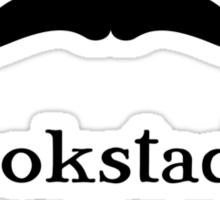 Bookstache Sticker
