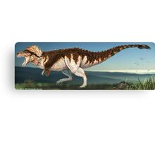 Tyrannosaurus Rex Finished Reconstruction Canvas Print