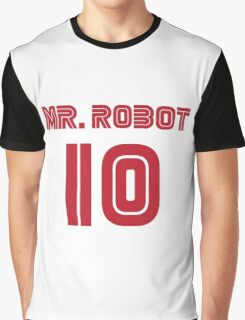 MR. ROBOT 10 Graphic T-Shirt