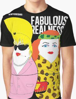 Fabulous Realness Black Graphic T-Shirt