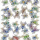 Spider Rainbow by SnakeArtist