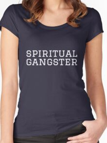 SPIRITUAL GANGSTER Women's Fitted Scoop T-Shirt