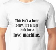 Pick Up Line T-Shirt: This isn't a beer belly... Unisex T-Shirt