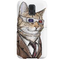 10th Doctor Mew 3D Glasses Samsung Galaxy Case/Skin