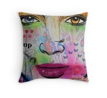 zeitgeist pop Throw Pillow
