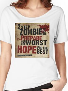 2 Step Zombie Plan Women's Relaxed Fit T-Shirt