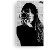 lens Canvas Print
