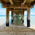Seaford Pier by Mark B Williams