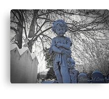Child in Winter  Canvas Print