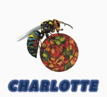 Charlotte Collectors T-shirts and Stickers by nhk999
