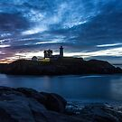 Nubble Blue by Marty Straub