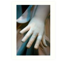 Pale Hand Art Print