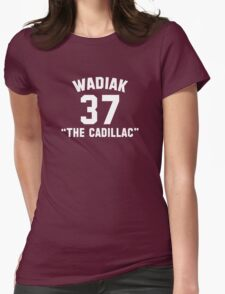 """Steve Wadiak """"The Cadillac"""" Womens Fitted T-Shirt"""