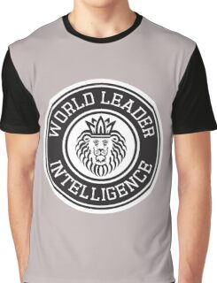 World Leader Intelligence Graphic T-Shirt