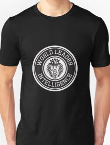 World Leader Intelligence T-Shirt