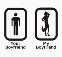 My Boyfriend is a Furry (Black) by FlintTheFox