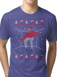 Christmas Hotline Bling Dance Tri-blend T-Shirt