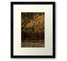 Skagit River Theater Framed Print