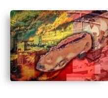 Czech Hamster Shoe Canvas Print