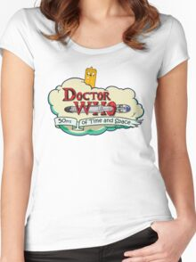 Adventure Time Lord 10th Women's Fitted Scoop T-Shirt