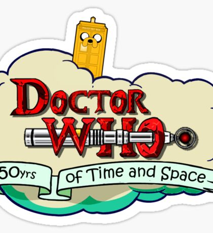 Adventure Time Lord Sticker