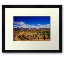 Road to the Pound  Framed Print