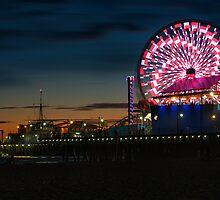 Santa Monica Pier by DDMITR